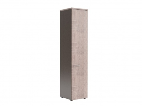 XHC 42.1 Шкаф колонка с глухой дверью и топом (425х410х1930)