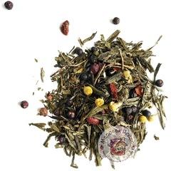 Силуэт. Зелёный чай.