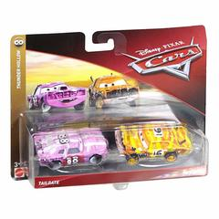 Maşın Disney Cars Character Tailgate & Pushover Toy Vehicle rəngli