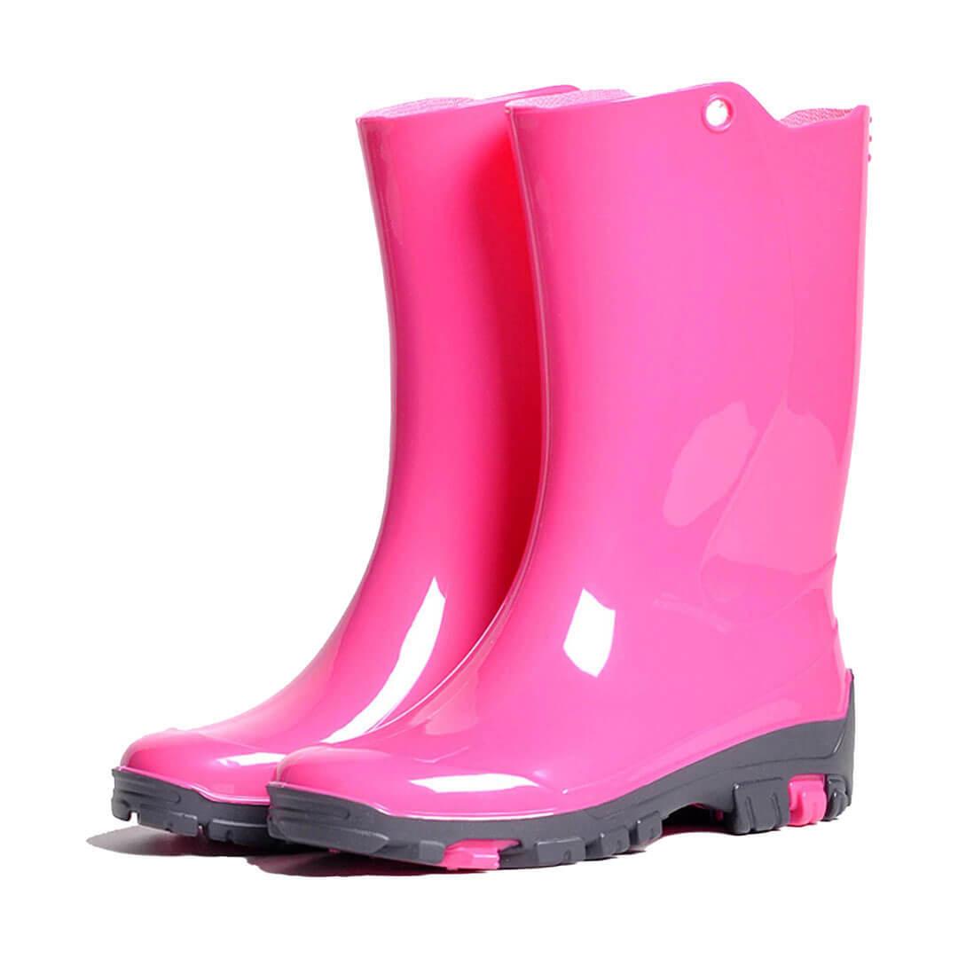 Детские сапоги Nordman Rain резиновые розовые
