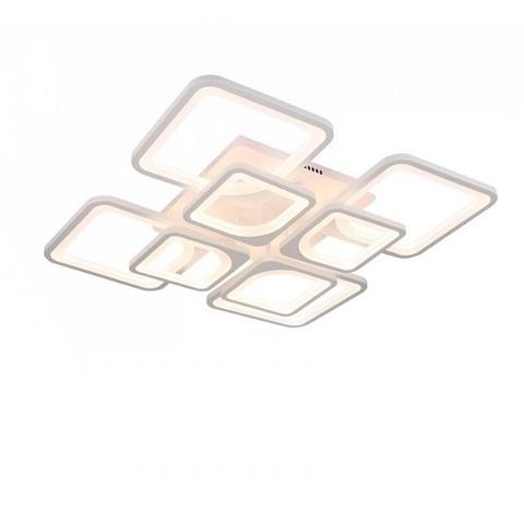 Потолочная светодиодная люстра CX-8036/4+4 WH