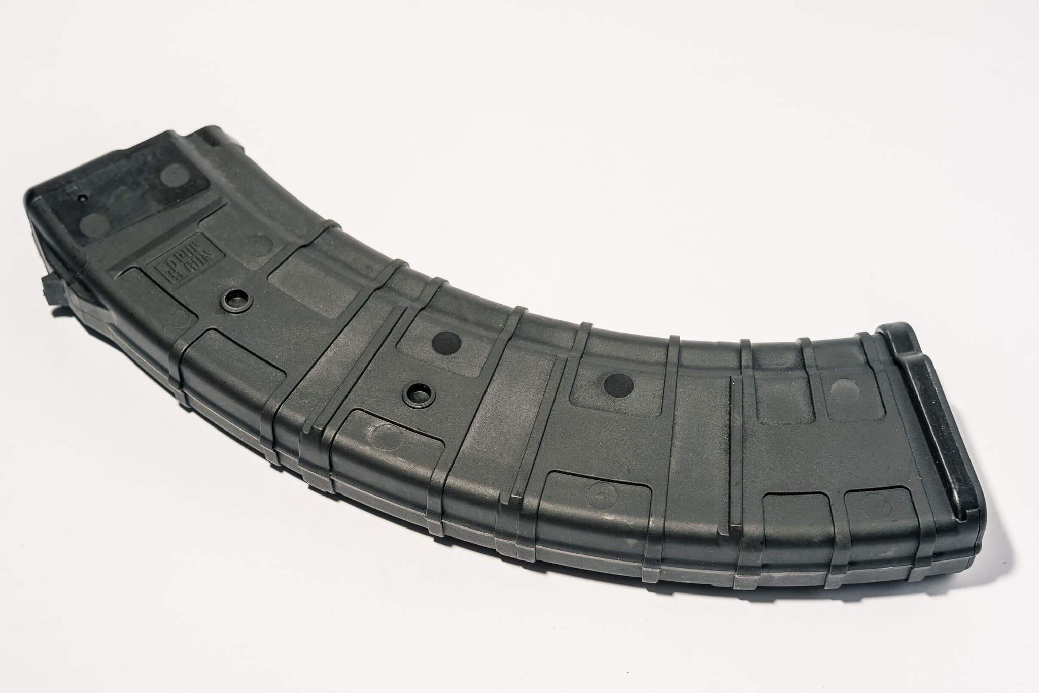 Магазин Pufgun для АКМ 7.62x39 ВПО-136 на 40 патронов, черный