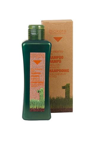 Шампунь для поврежденных и окрашенных волос Salerm Biokera, 300 мл.