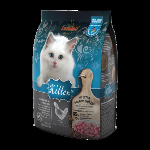 Leonardo Kitten Сухой корм для котят, беременных и кормящих кошек с курицей