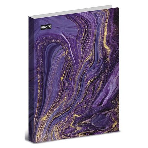 Папка с зажимом  Attache Selection, Fluid, фиолетов.