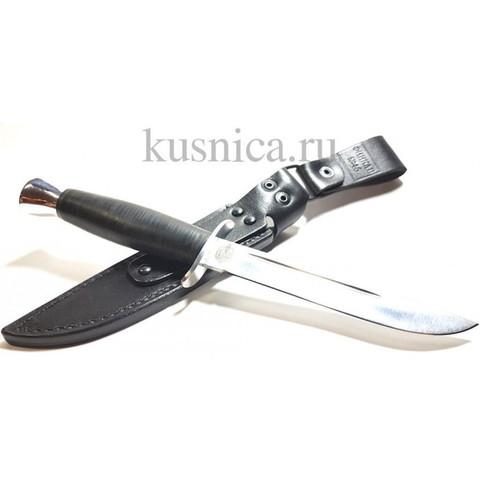 Нож Финка-2, кожа, 100x13, Златоуст