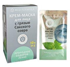 Крем-маска с сакской грязью «Природное оздоровление»™Дом Природы