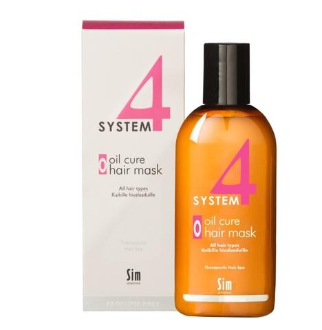SYSTEM 4 Oil Cure Hair Mask «O» Терапевтическая маска