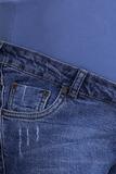 Джинсы для беременных 09406 синий