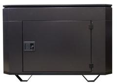 Шумозащитный всепогодный миниконтейнер для генератора (RAL 8019)