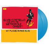 Elvis Costello ‎/ Live With The Metropole Orkest - My Flame Burns Blue (Coloured Vinyl)(2LP)