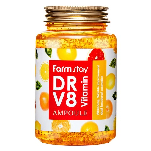 FARM STAY Сыворотка для лица DR-V8 Vitamin Ampoule (Витамин) 250 мл.