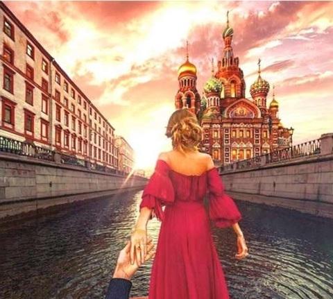 Алмазная Мозаика 40x50 Следуй за мной по Москве (арт. ZX9844 )