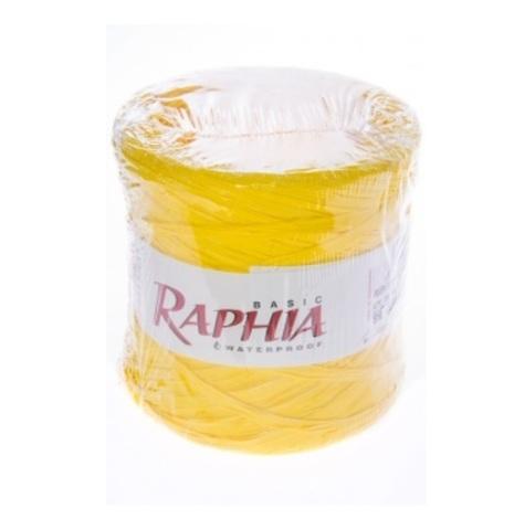 Рафия искусственная Италия 200 м Цвет: желтый