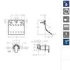 Встроенный смеситель для раковины RS-Q 93169 - фото №2