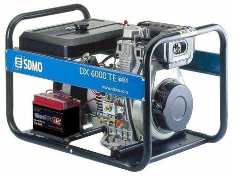 Кожух для дизельного генератора SDMO DX6000TE (5200 Вт)