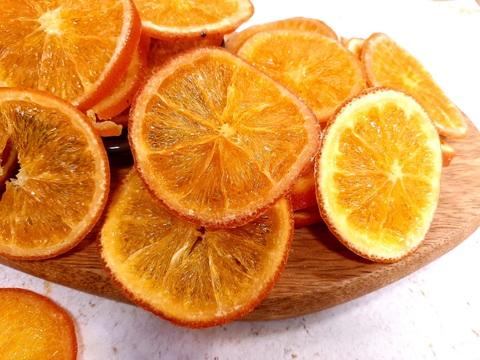 Апельсин сушеный кольцами