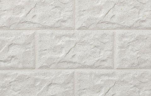 Stroeher - КS01 weiss, Kerabig, glasiert, глазурованная, 302x148x12 - Клинкерная плитка для фасада и цоколя
