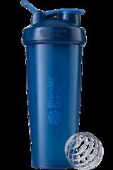BlenderBottle Classic 946 Шейкер классический с венчиком-пружинкой темно-синий неви 946 мл