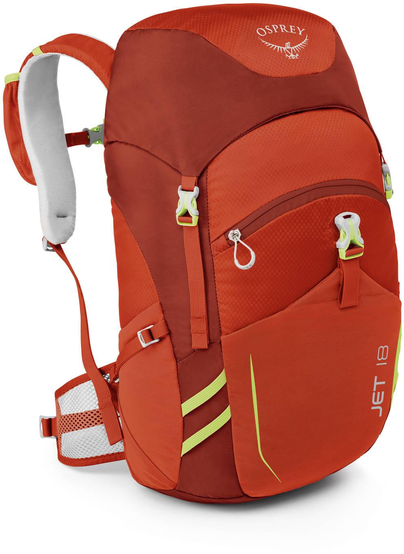 Городские рюкзаки Рюкзак детский Osprey Jet 18 Strawberry Red Jet_18_Side_Strawberry_Red_web.jpg