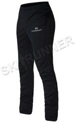 Лыжные разминочные брюки Nordski Base Black женские