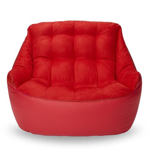 Бескаркасный диван «Босс», Красный