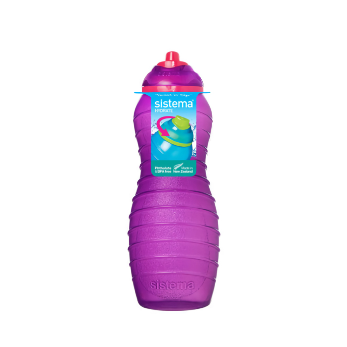 """Бутылка для воды Sistema """"Hydrate"""" 700 мл, цвет Фиолетовый"""