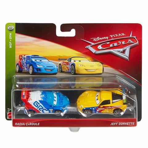 Maşın Disney Cars Character Jeff Gorvette & Raoul Toy Vehicle 3