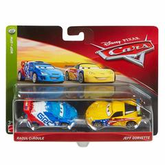 Maşın Disney Cars Character Jeff Gorvette & Raoul Toy Vehicle 3