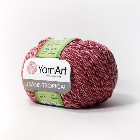 Пряжа YarnArt Jeans Tropical цвет 615