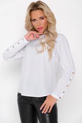 """<p>Модель рубашки """"Марина"""" достаточно сдерженная, но в то же время изысканная. Акцен модели - пуговицы на рукавах и по спинке изделия.&nbsp;</p>"""