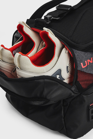 Черная спортивная сумка UA Contain Duo SM Duffle-BLK Under Armour