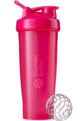 BlenderBottle Classic 946мл Шейкер классический с венчиком-пружинкой розовый