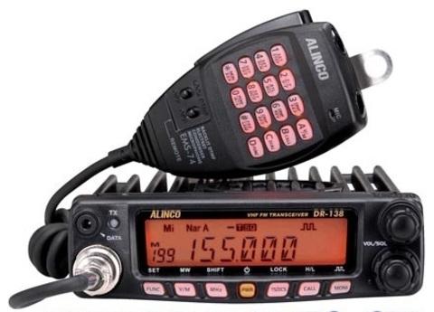 УКВ радиостанция ALINCO DR-138