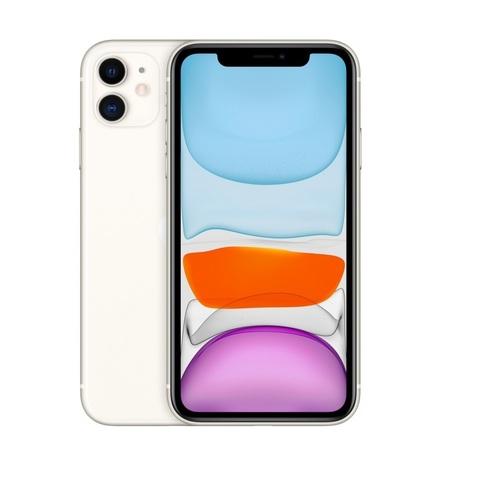 Смартфон Apple iPhone 11 64GB White (белый) -РОСТЕСТ-