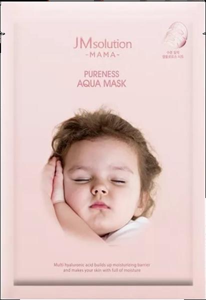 Тканевые JMsolution Тканевая гипоаллергенная увлажняющая маска для будущих  MAMA  PURENESS AQUA MASK 30 мл. Screen_Shot_2020-05-02_at_14.07.50.png