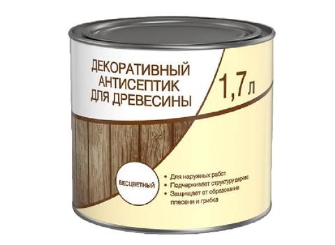 Антисептик Декоративный ЛЦ бесцветный 1,7л