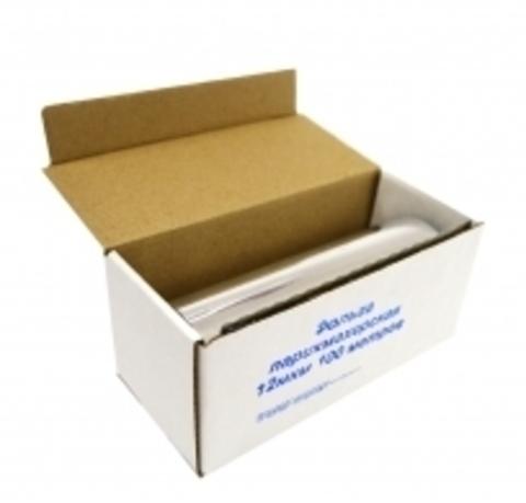 Фольга алюминиевая 18 мкм *100 м (в коробке)