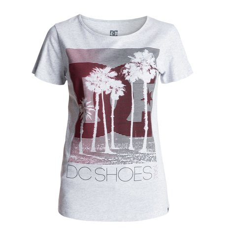 Футболка Жен. DC Tourista WMN Tee KNFH Heather Grey