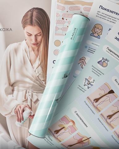 Набор плакатов в тубусе M.AKLIVE цена мастера 500