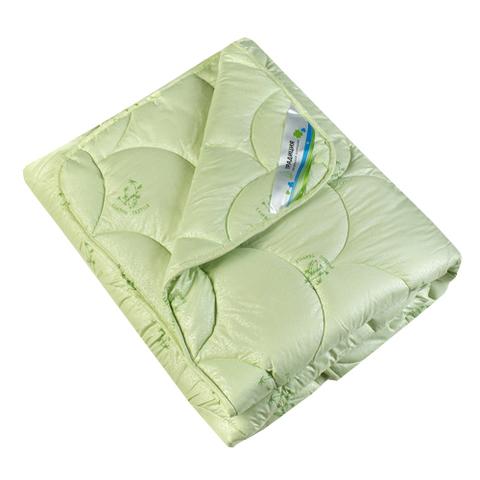 Одеяло Бамбук 300 г тик ПЭ с серебристым напылением