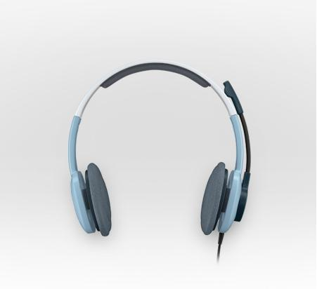 LOGITECH H250 Stereo Headset Ice Blue