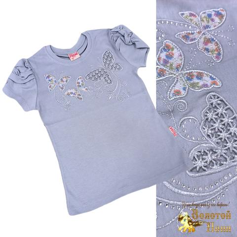 Блуза хлопок девочке (6-12) 210609-SH54085