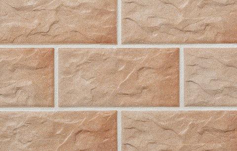 Stroeher - KS03 rose, Kerabig, glasiert, глазурованная, 302x148x12 - Клинкерная плитка для фасада и цоколя
