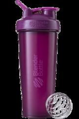 BlenderBottle Classic 946 мл Шейкер классический с венчиком-пружинкой фиолетовый сливовый