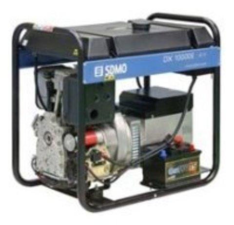 Кожух для дизельного генератора SDMO DX10000E (8000 Вт)