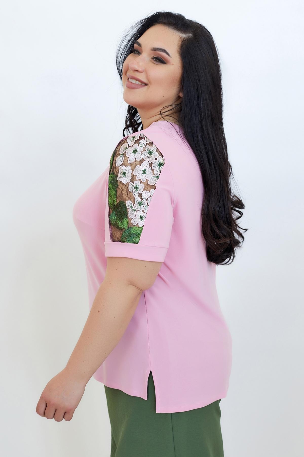 Блуза Дейзі (Дейзи)(розовый)