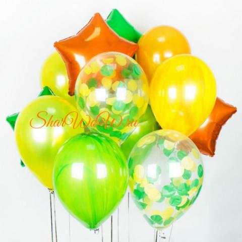 Сет воздушных шаров Летний