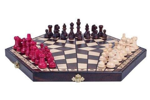 Шахматы на троих средние