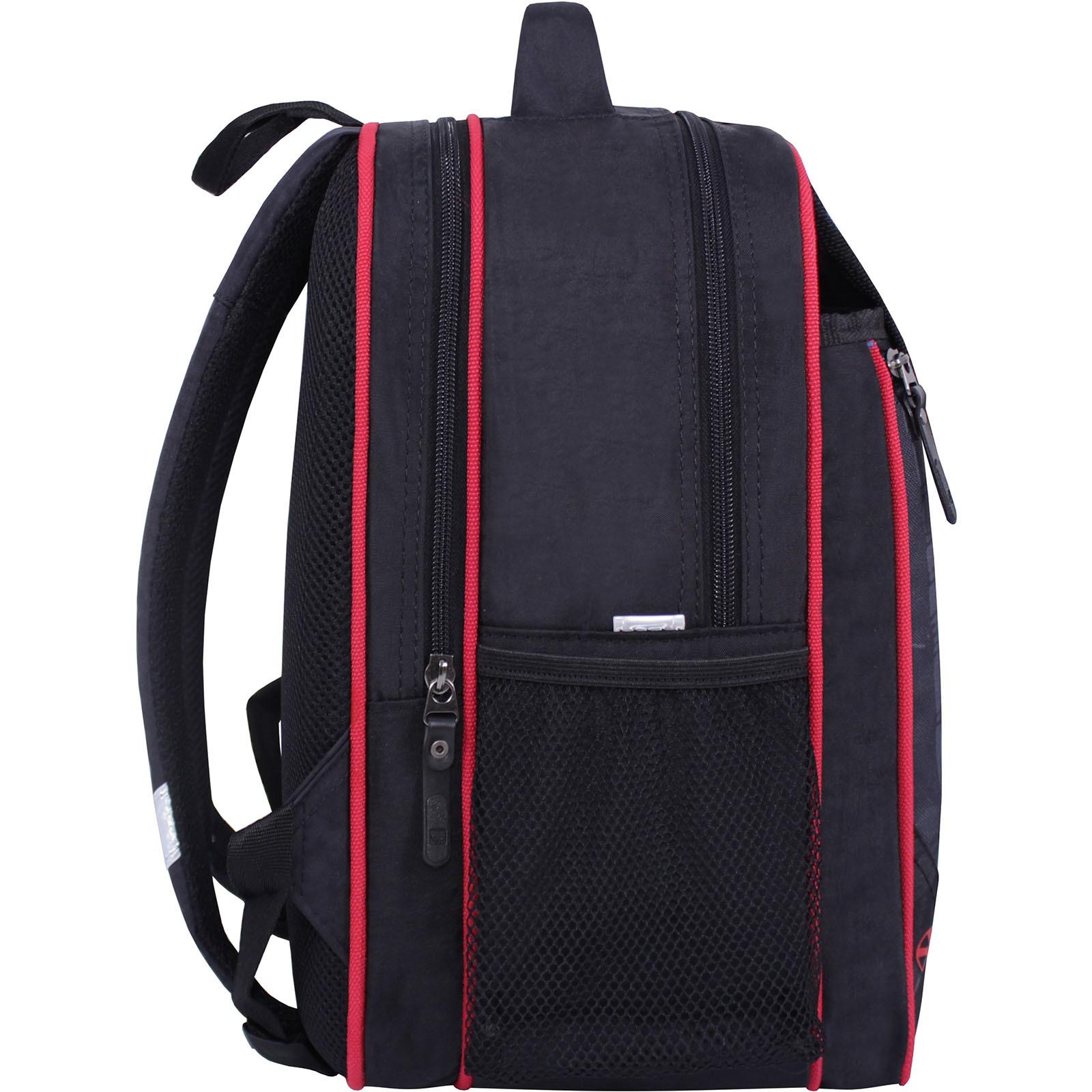Рюкзак школьный Bagland Отличник 20 л. черный 568 (0058070) фото 2